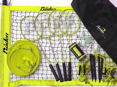 Image 0 of Champions Series Badminton Set by Baden