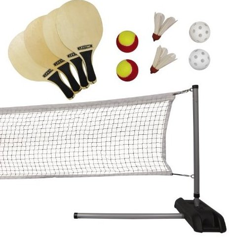 Image 0 of 90421 Pickleball Badminton  Quickstart Tennis Net Set by Lifetime