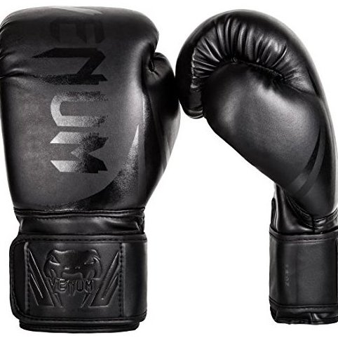 Image 0 of Challenger 2.0 Boxing Gloves 16 oz black by Venum