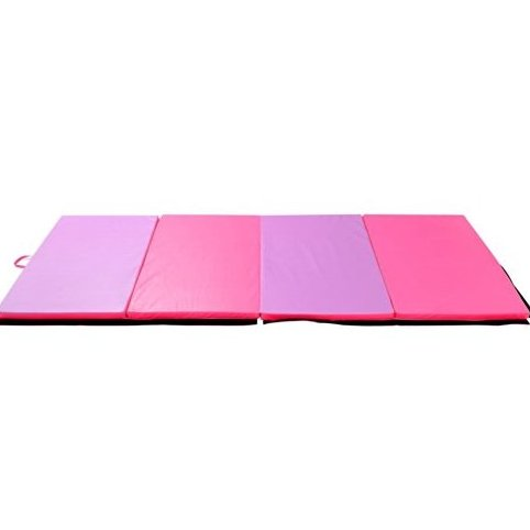 Image 0 of PU Leather Gymnastics Tumbling/Martial Arts Folding Mat P by Soozier