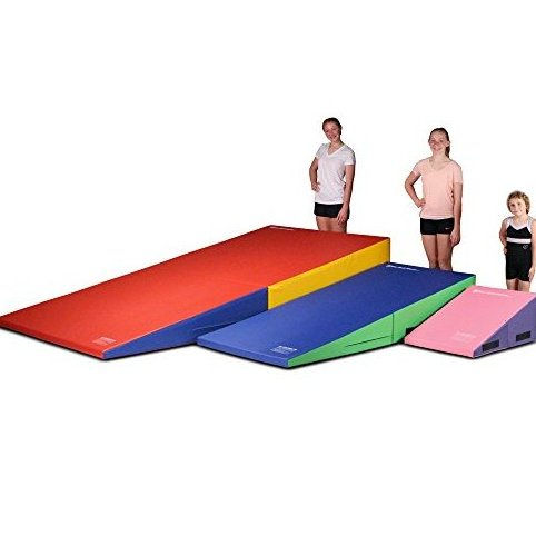 Image 0 of Gymnastics Folding and Non-Folding Incline Cheese Wed by We Sell Mats