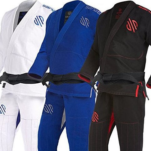 Image 0 of Essentials Version 2 Ultra Light BJJ Jiu Jitsu Gi with Pre by Sanabul