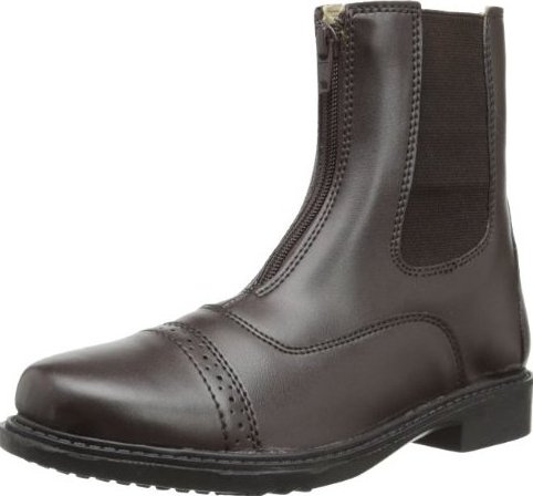Image 0 of Womens Starter Front Zip Paddock Boots Mocha 105 by TuffRider