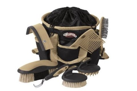 Image 0 of Grooming Kit Black/Beige by Weaver Leather
