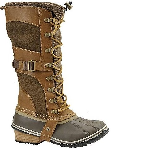 Image 0 of Sorel Womens Conquest Carly BootBritish Tan/FlaxUS 11 M by Sorel