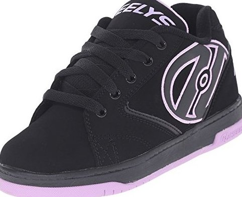 Image 0 of Girls Propel 2.0 Little Adult Black/Lilac 6 Big Kid 7 by Heelys