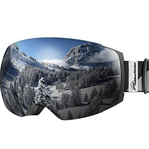 Image 0 of Ski Goggles PRO - Frameless Interchangeable Lens Sn by OutdoorMaster