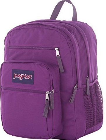 Big Student Classics Series Backpack - Vivid Purple by JanSport
