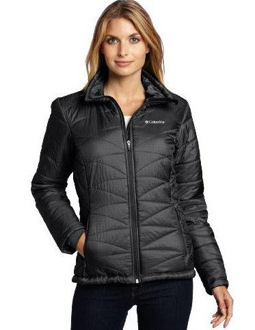 Image 0 of Womens Mighty Lite III Jacket 2X Black by Columbia
