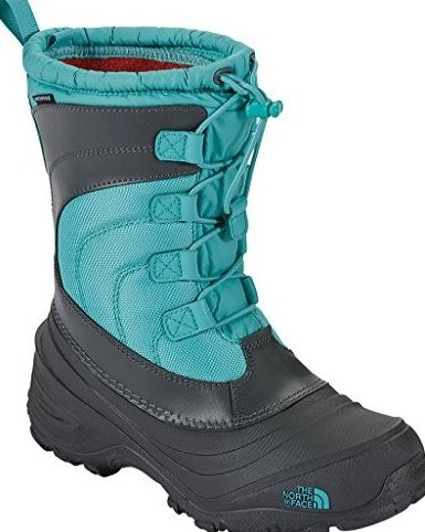 Alpenglow IV Girls Boots - 3.0/Dark Shadow Grey-Ion by The North Face