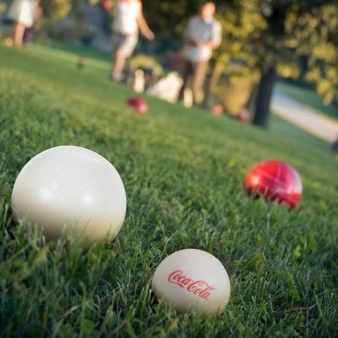 Image 0 of Trademark Global Bocce Ball Set with Carrying Case - 5 St by Coca-Cola