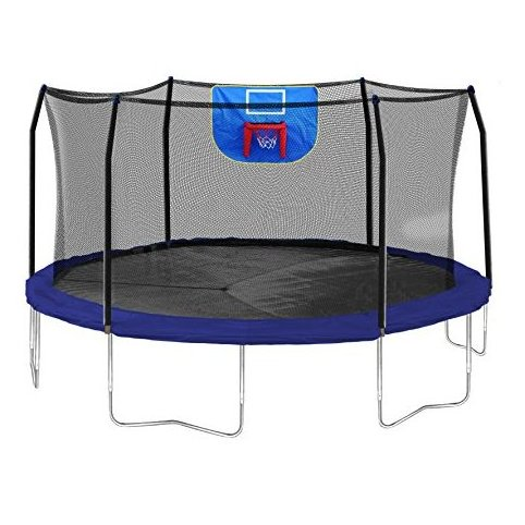 Image 0 of Jump N Dunk Trampoline with Safety Enclosur by Skywalker Trampolines