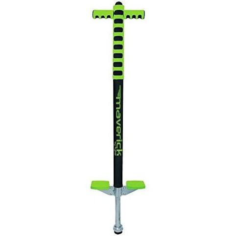 Image 0 of Foam Maverick Pogo Stick Green/Black - Great Intro Pogo S by Flybar