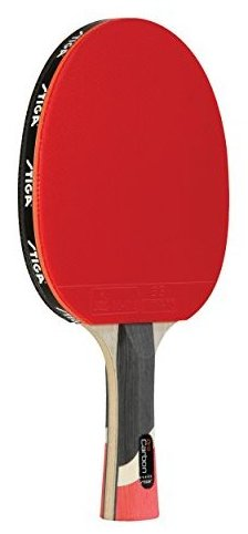 Image 0 of Pro Carbon Table Tennis Racket by Stiga