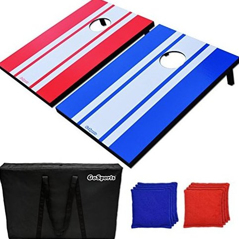 Image 0 of Classic Cornhole Set Includes 8 Bags Carry Case and Rule by GoSports