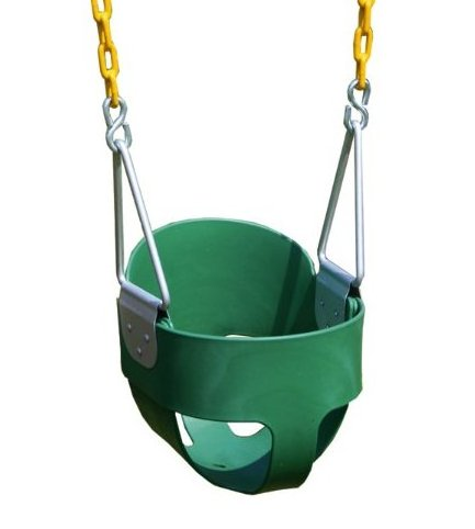 Image 0 of Heavy-Duty High Back Full Bucket Toddler Swing by Eastern Jungle Gym