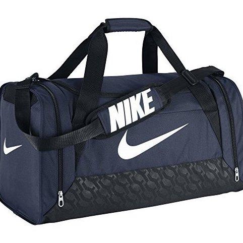 Image 0 of Ba4831401 Brasilia 6 S Duffel Grip Gym Bag Midnight Navy by Nike