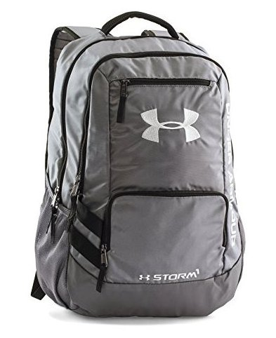 Image 0 of Storm Hustle II Backpack Graphite 040 One Size by Under Armour