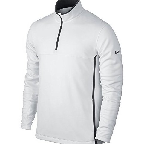 Image 0 of Golf Therma-FIT Cover-Up White Medium by Nike