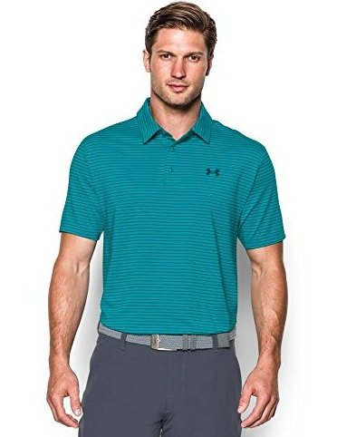 Image 0 of Mens Playoff Polo Pacific 482 Medium by Under Armour