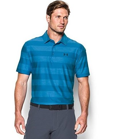 Image 0 of Mens Playoff Polo Brilliant Blue 790 Small by Under Armour