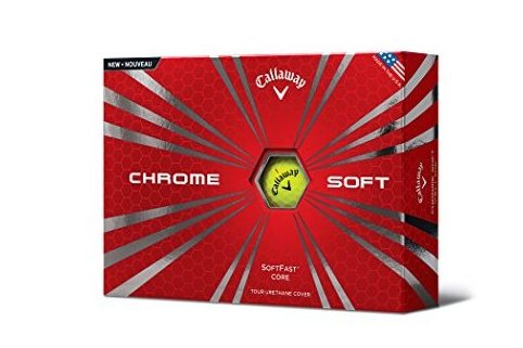 Image 0 of Chrome Soft 2015 Golf Balls Yellow by Callaway