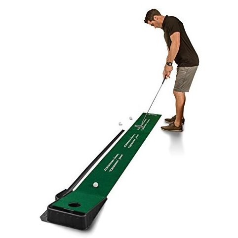 Accelerator Pro - Indoor Putting Green With Ball Return 9 fe by SKLZ