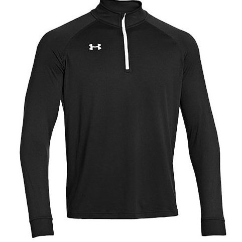 Image 0 of Mens Every Team Armour Tech 1/4 Zip Black Medium by Under Armour