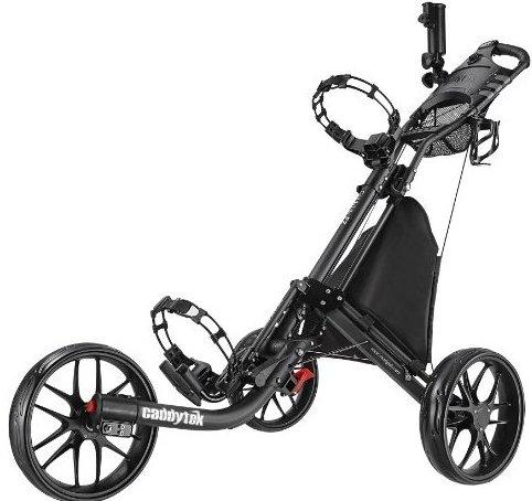 Image 0 of EZ-Fold 3 Wheel Golf Push Cart Dark Grey by CaddyTek