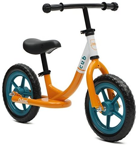 Cub No-Pedal Balance Bike for Kids Orange and Tea by Critical Cycles