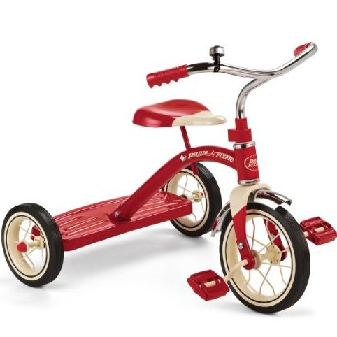 Classic Red Tricycle 10-Inch by Radio Flyer
