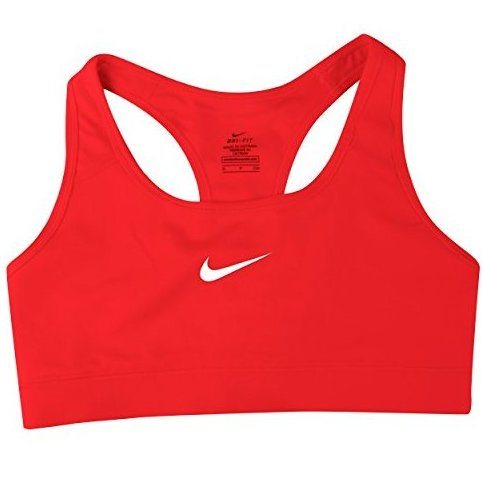 Image 0 of Pro Bra - Large - Hyper Punch/Light Ash Grey by Nike