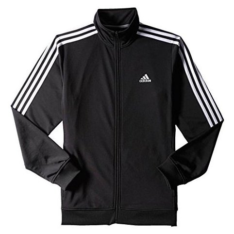 Image 0 of Performance Mens Essential Track Jacket Large Black/Whit by adidas