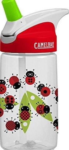 Image 0 of Kids Eddy Water Bottle Ladybugs .4-Liter by CamelBak