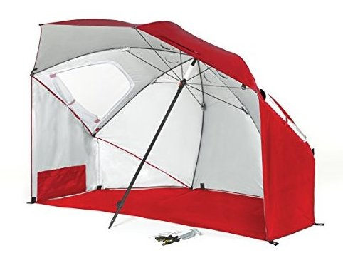 Image 0 of Plus Fire Brick Sun Shelter Red by Sport-Brella