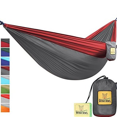 Image 0 of The Ultimate Single  Double Camping Hammocks- by Wise Owl Outfitters