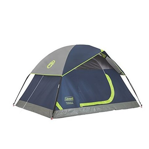 Image 0 of Sundome 2-Person Dome Tent Navy/Grey by Coleman