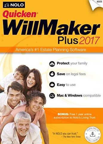 .com Quicken WillMaker Plus 2017 by Nolo