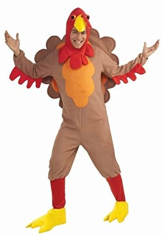 Adult Fleece Turkey Costume Plus Size by Forum Novelties