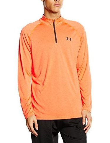 Image 0 of Tech Quarter Zip Long Sleeve Running Top - SS16 - Sma by Under Armour