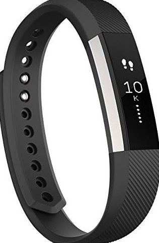 Image 0 of Alta Fitness Tracker Silver/Black Small by Fitbit