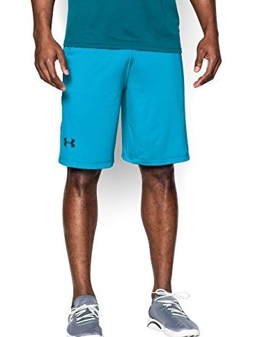 Image 0 of Mens UA Raid 10quot; Shorts Large Island Blues by Under Armour