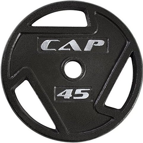 2-Inch Olympic Grip Plate 45-Pounds by CAP Barbell