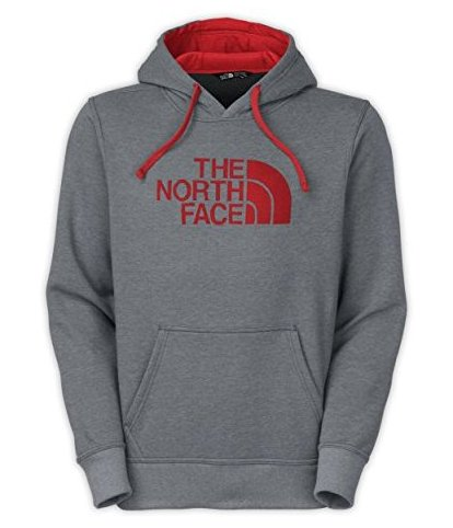 Image 0 of Mens Half Dome Hoodie TNF Medium Grey Heather/Pom by The North Face