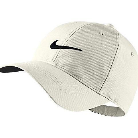 Image 0 of Mens Legacy91 Tech Adjustable Golf Hat 072 Light Bone/Black by Nike