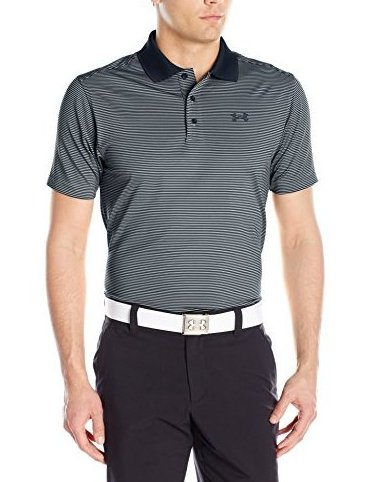 Image 0 of Mens Release Polo Steel 035 Medium by Under Armour
