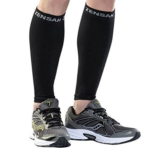 Image 0 of Compression Leg Sleeves Black Large/X-Large by Zensah