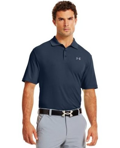 Image 0 of Mens Performance Polo Academy/Steel X-Large by Under Armour