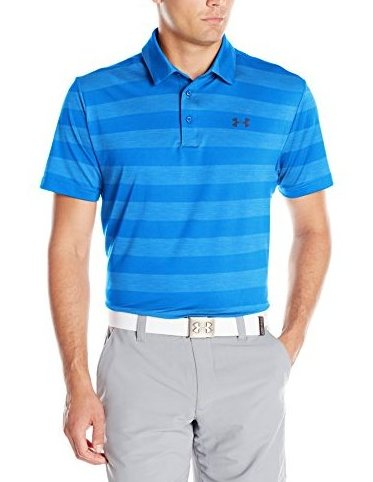 Image 0 of Mens Playoff Polo Brilliant Blue 788 Medium by Under Armour