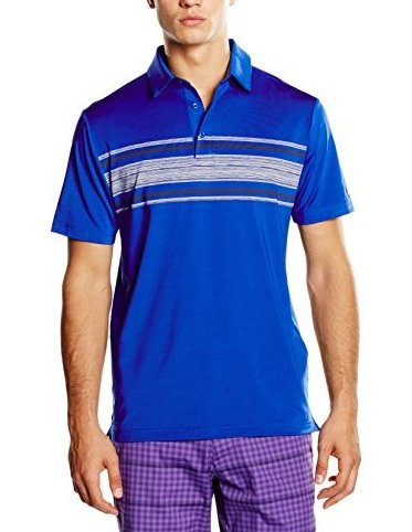 Image 0 of Mens Playoff Polo Ultra Blue 909 3X-Large by Under Armour